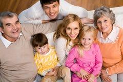 Famiglia amichevole Fotografia Stock Libera da Diritti