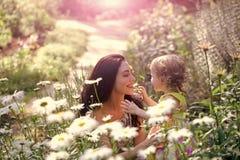 Famiglia, amore, fiducia, felicità Immagini Stock Libere da Diritti