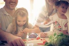 Famiglia in buona salute felice immagini stock libere da diritti