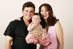 Famiglia casuale Immagine Stock