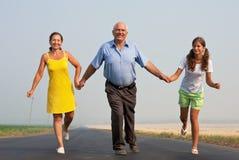 Famiglia. concetto di libertà Immagine Stock Libera da Diritti
