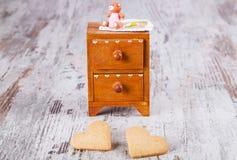 Famiglia dei biscotti Immagine Stock
