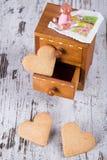Famiglia dei biscotti Fotografia Stock