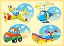 Famiglia dei veicoli illustrazione di stock
