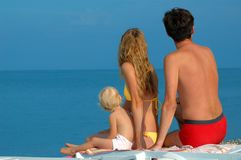 famiglia del bambino piccola fotografia stock libera da diritti