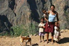 Famiglia del Capo Verde Fotografie Stock