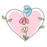 Famiglia del fiore Immagini Stock