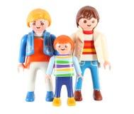 Famiglia del ` s del giocattolo Fotografia Stock Libera da Diritti