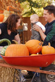 famiglia di autunno Fotografia Stock Libera da Diritti