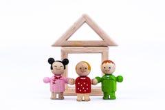 Famiglia di felicità Fotografia Stock