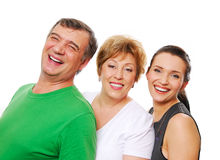 Famiglia di felicità Fotografia Stock Libera da Diritti