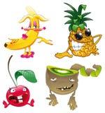Famiglia di frutta illustrazione vettoriale