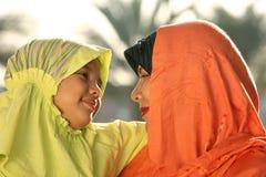 Famiglia di islam Immagini Stock Libere da Diritti