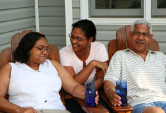 Famiglia di minoranza Fotografia Stock Libera da Diritti