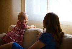 Famiglia domestica di stile di vita Immagini Stock Libere da Diritti