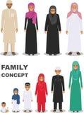 Famiglia e concetto del sociale Immagine Stock Libera da Diritti