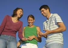 Famiglia felice 15 Fotografie Stock Libere da Diritti
