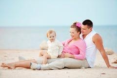 Famiglia felice Fotografie Stock