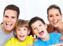 Famiglia felice. Fotografie Stock Libere da Diritti