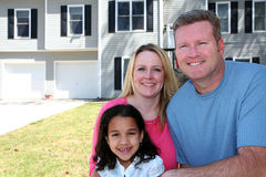 Famiglia felice Immagine Stock Libera da Diritti