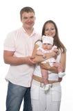 Famiglia felice Immagini Stock