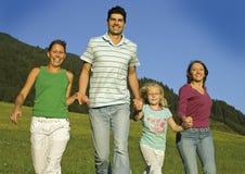 Famiglia felice 7 Fotografia Stock