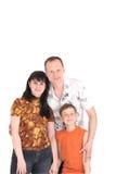 Famiglia felice con un bambino Fotografia Stock Libera da Diritti