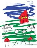 Famiglia gaia illustrazione vettoriale