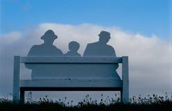 Famiglia immaginaria Fotografia Stock Libera da Diritti