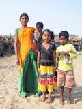 Famiglia indiana Fotografie Stock Libere da Diritti