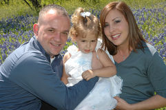 Famiglia insieme Fotografia Stock Libera da Diritti