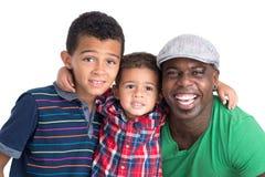 Famiglia internazionale felice immagine stock libera da diritti