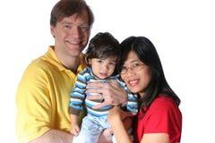 Famiglia interrazziale Fotografia Stock