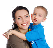 Famiglia lifestile Fotografia Stock Libera da Diritti