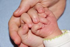 Famiglia, madre e bambini Fotografia Stock Libera da Diritti
