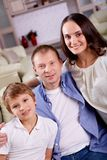 Famiglia moderna Immagini Stock