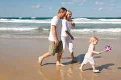 Famiglia nel Mediterraneo Immagini Stock