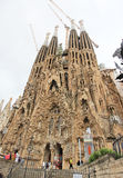 Famiglia Sagrada in Barcelona Stock Photos