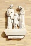 Famiglia santa Immagine Stock