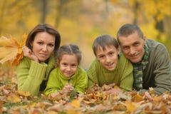 Famiglia sorridente felice Immagine Stock Libera da Diritti