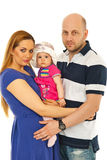 Famiglia unita Fotografia Stock