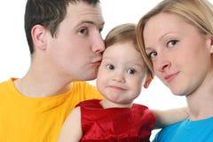 Famiglia variopinta immagine stock libera da diritti