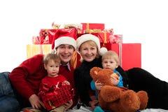 Famiglia X Fotografie Stock Libere da Diritti