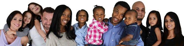 Famiglie fotografia stock libera da diritti