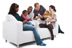 Famiglie ed amici Fotografie Stock Libere da Diritti