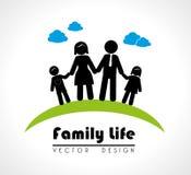Famili life Stock Image