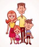 Familia stock de ilustración