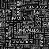 FAMILIA. ilustración del vector