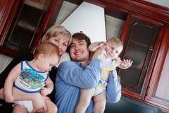 Familia Fotografía de archivo libre de regalías