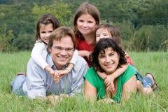 Familia Foto de archivo libre de regalías